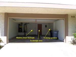 Ridgethorne townhouse, garage