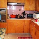 This kitchen was remodeled, but when?